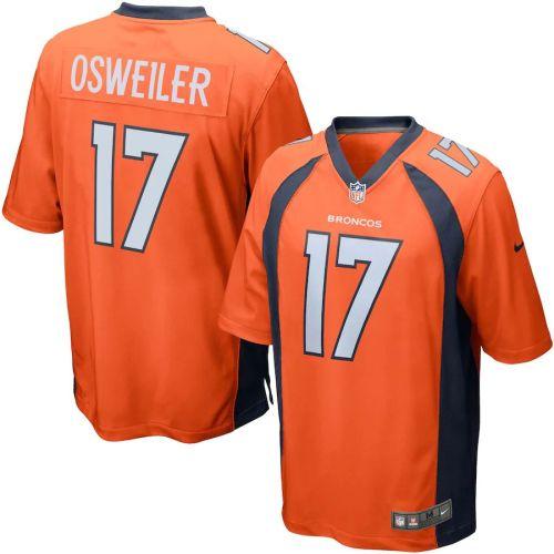 Men's Brock Osweiler Orange Player Limited Team Jersey