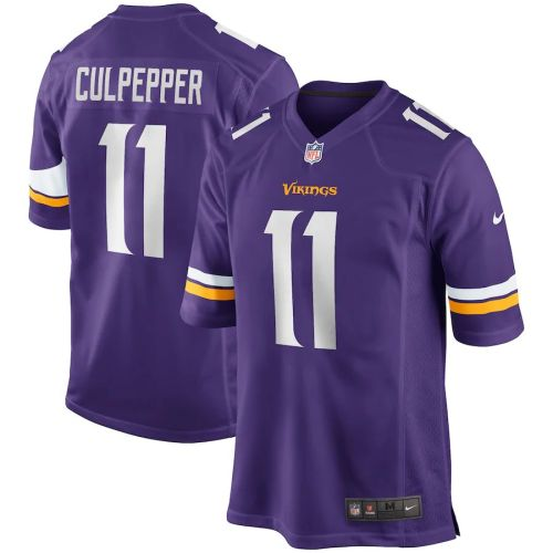 Men's Daunte Culpepper Purple Retired Player Limited Team Jersey