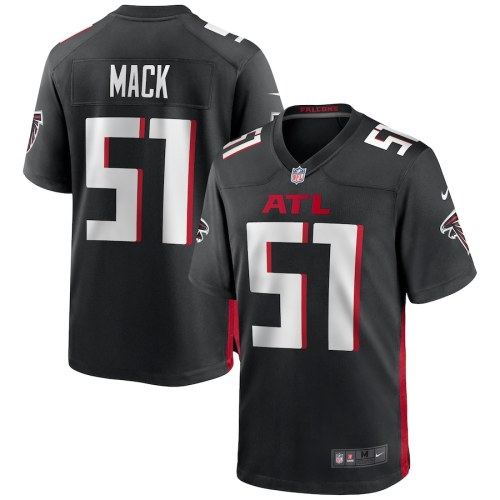 Men's Alex Mack Black Player Limited Team Jersey