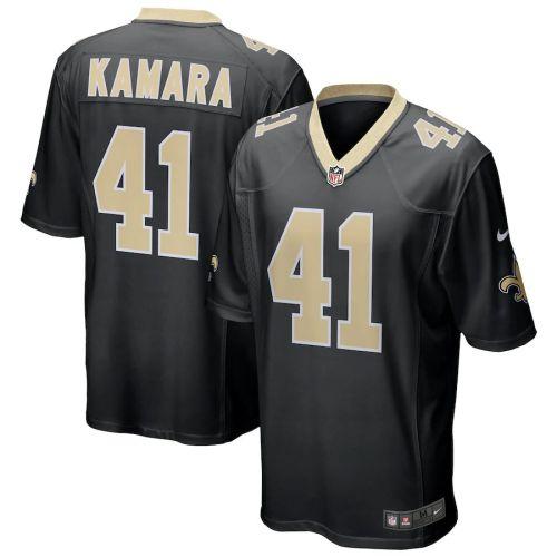Men's Alvin Kamara Black Player Limited Team Jersey