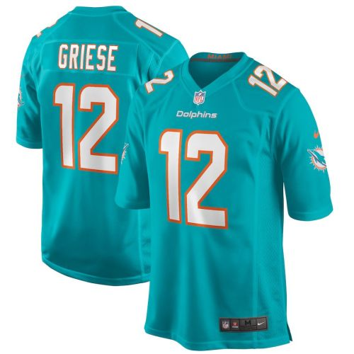 Men's Bob Griese Aqua Retired Player Limited Team Jersey
