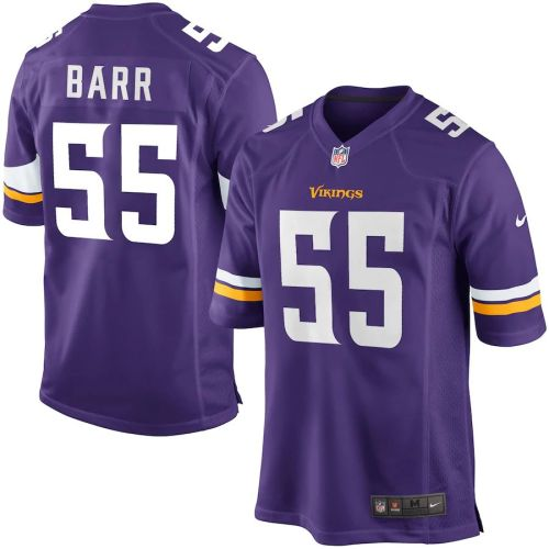 Men's Anthony Barr Purple Player Limited Team Jersey