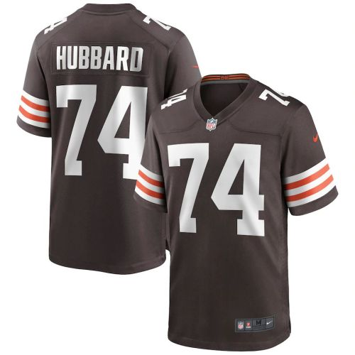 Men's Chris Hubbard Brown Player Limited Team Jersey
