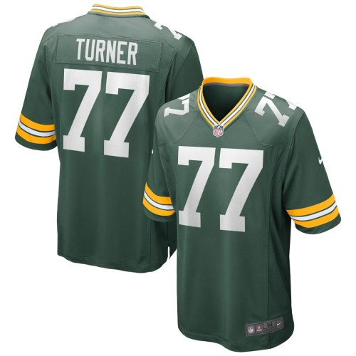 Men's Billy Turner Green Player Limited Team Jersey