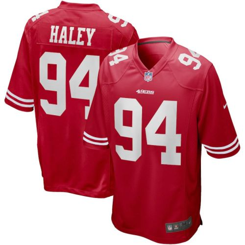 Men's Charles Haley Scarlet Retired Player Limited Team Jersey