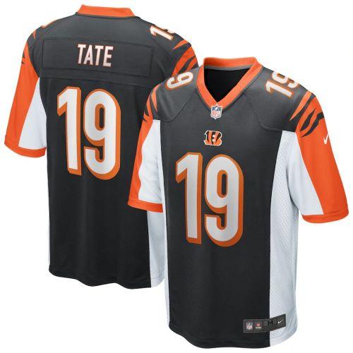 Men's Auden Tate Black Player Limited Team Jersey