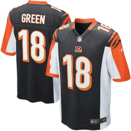 Men's AJ Green Black Player Limited Team Jersey