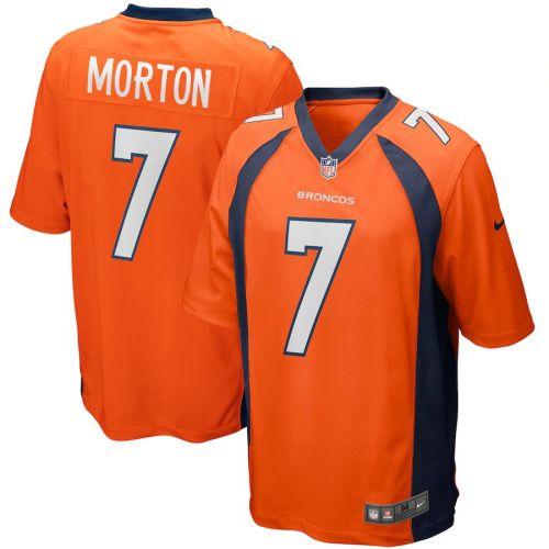 Men's Craig Morton Orange Retired Player Limited Team Jersey