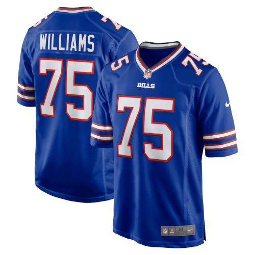 Men's Daryl Williams Royal Player Limited Team Jersey