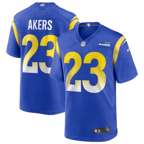Men's Cam Akers Royal 2020 Draft Pick Player Limited Team Jersey