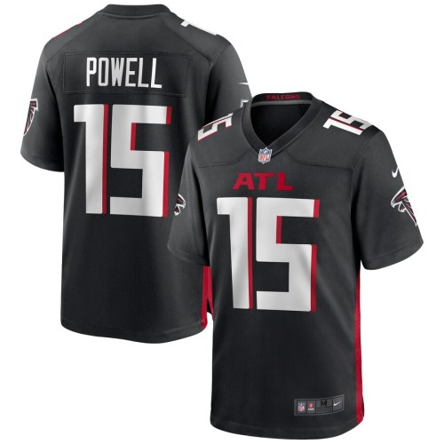 Men's Brandon Powell Black Player Limited Team Jersey
