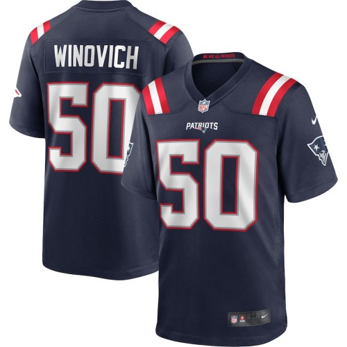 Men's Chase Winovich Navy Player Limited Team Jersey