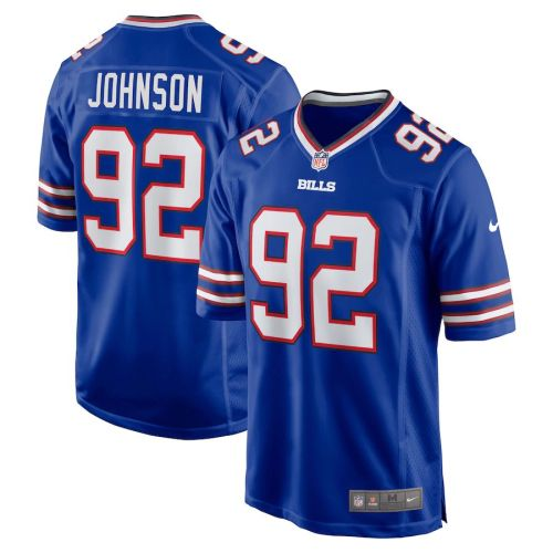 Men's Darryl Johnson Royal Player Limited Team Jersey