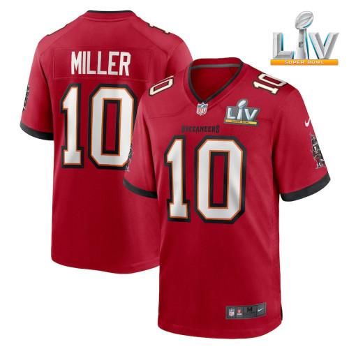 Men's Scotty Miller Red Super Bowl LV Player Limited Team Jersey
