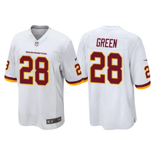 Men's #28 Darrell Green White Retired Player Limited Team Jersey