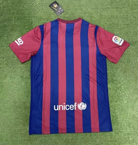 Thai Version Barcelona 21/22 Home Soccer Jersey