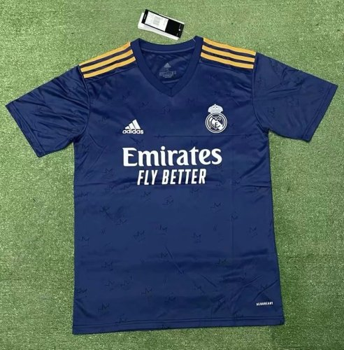 Thai Version Real Madrid 21/22 Away Soccer Jersey