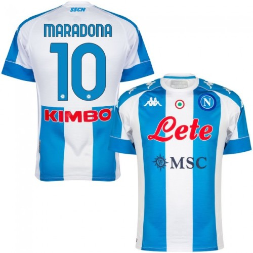 Thai Version Napoli 20/21 4th Special Edition Jersey Maradona 10
