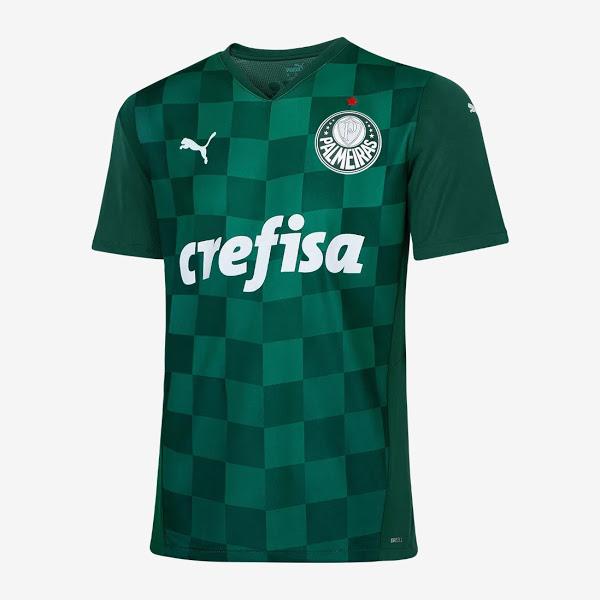 Thai Version Palmeiras 2021 Home Soccer Jersey