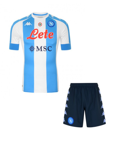 Napoli 20/21 4th Special Edition Soccer Jersey and Short Kit