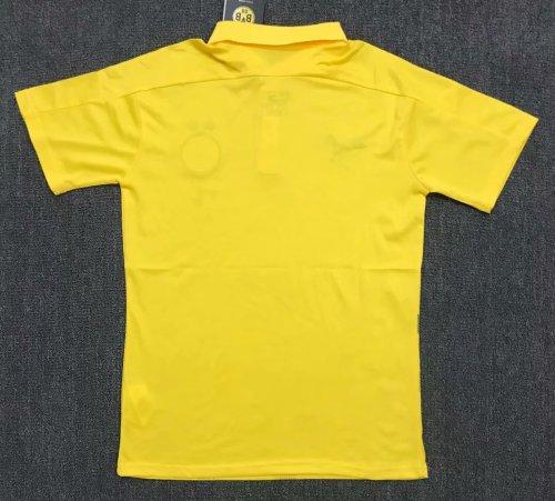 Borussia Dortmund 20/21 Yellow Pre-Match Polo Shirt