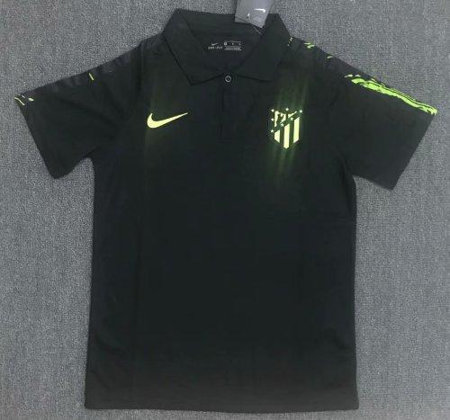 Atletico Madrid 20/21 Black Pre-Match Polo Shirt