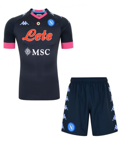Napoli 20/21 Third Soccer Jersey and Short Kit