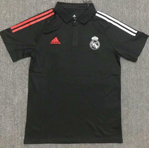 Real Madrid 20/21 Training Polo Shirt Black