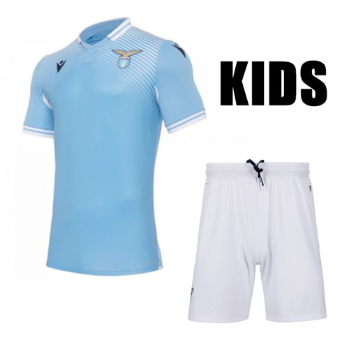SS Lazio 20/21 Kids Home Soccer Jersey and Short Kit