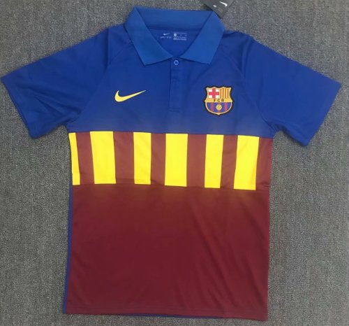 Barcelona 20/21 Home Pre-Match Polo Shirt