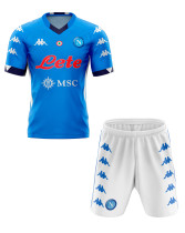 Napoli 20/21 Home Soccer Jersey and Short Kit