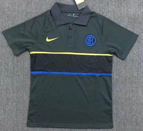 Inter Milan 20/21 Pre-Match Polo Shirt