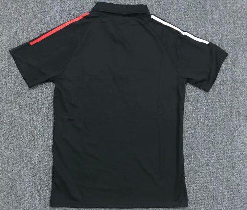 Bayern Munich 20/21 Training Polo Shirt Black