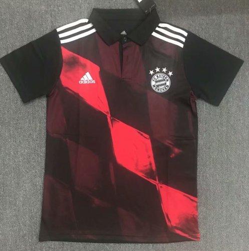 Bayern Munich 20/21 Pre-Match Polo Shirt Black