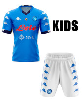 Napoli 20/21 Kids Home Soccer Jersey and Short Kit