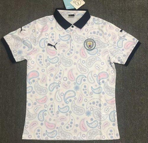 Manchester City 20/21 Third Pre-Match Polo Shirt