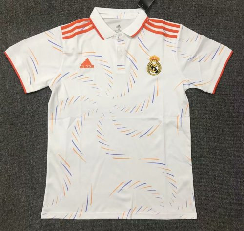 Real Madrid 21/22 Home Pre-Match Polo Shirt