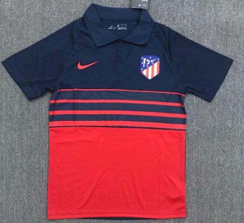 Atletico Madrid 20/21 Home Pre-Match Polo Shirt