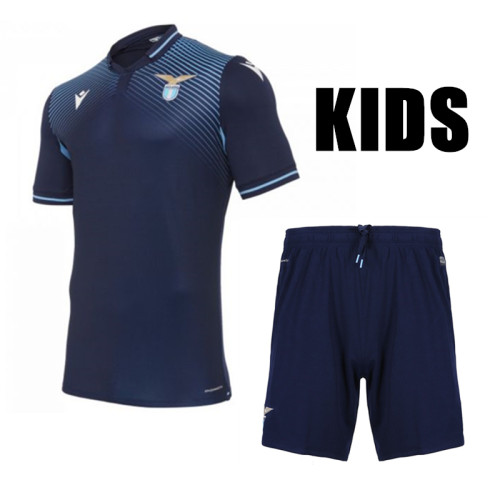 SS Lazio 20/21 Kids Third Soccer Jersey and Short Kit