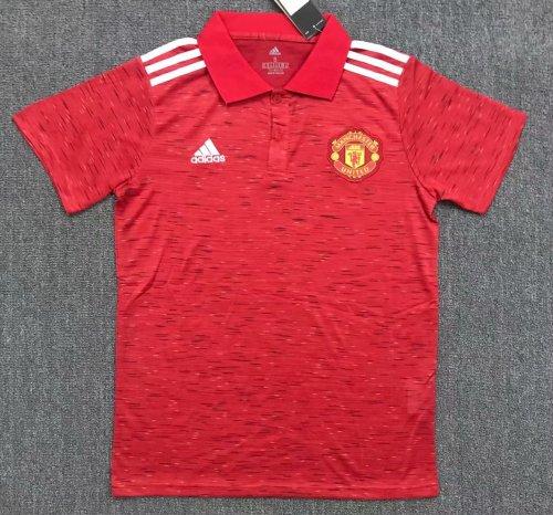 Manchester United 20/21 Home Pre-Match Polo Shirt