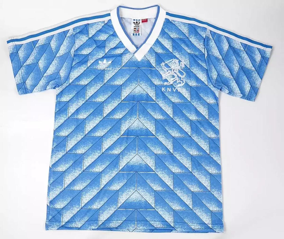 Netherlands 1988-90 Away Retro Soccer Jersey - shootjerseys