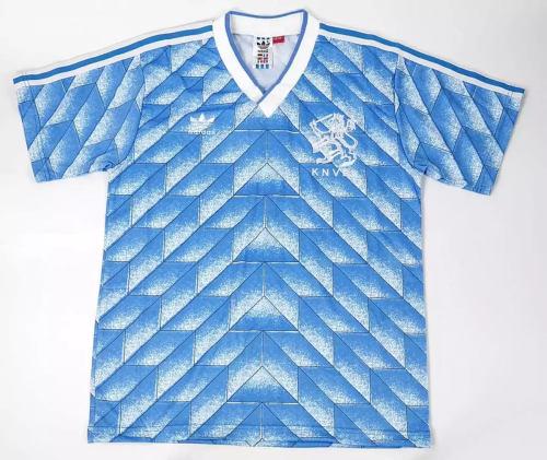 Netherlands 1988-90 Away Retro Soccer Jersey