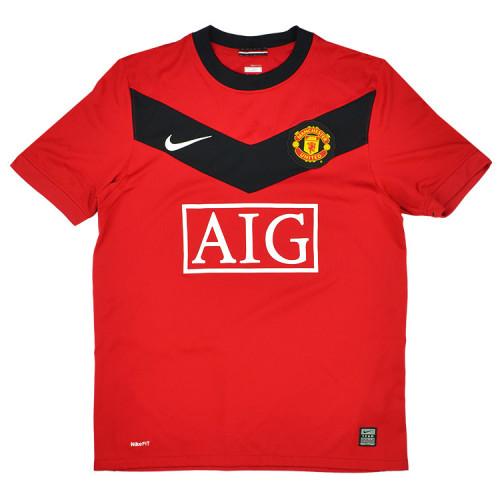 Manchester United 2009-10 Home Retro Jersey