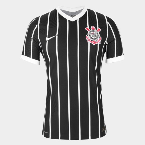 Thai Version Corinthians 2020 Away Soccer Jersey