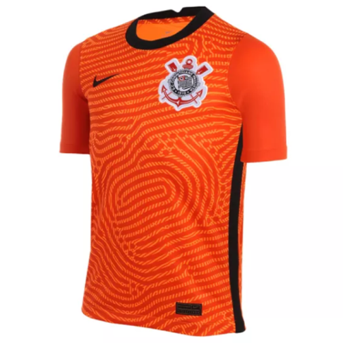Thai Version Corinthians 2020 Goalkeeper Soccer Jersey - Orange