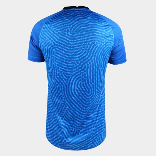 Thai Version Corinthians 2020 Goalkeeper Soccer Jersey - Blue
