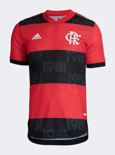 Player Version Flamengo 2021 Home Authentic Jersey