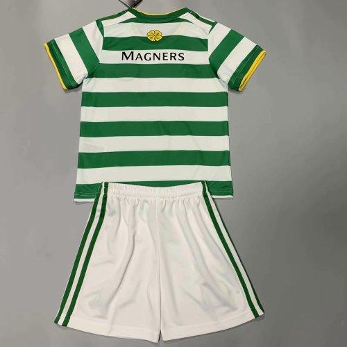 Celtic 20/21 Kids Home Soccer Jersey and Short Kit