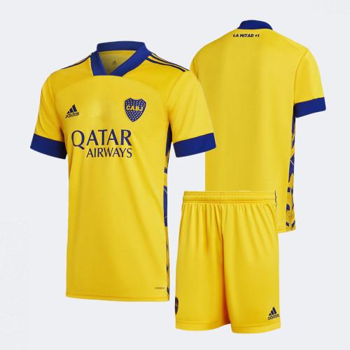Boca Juniors 2020 Third Soccer Jersey and Short Kit