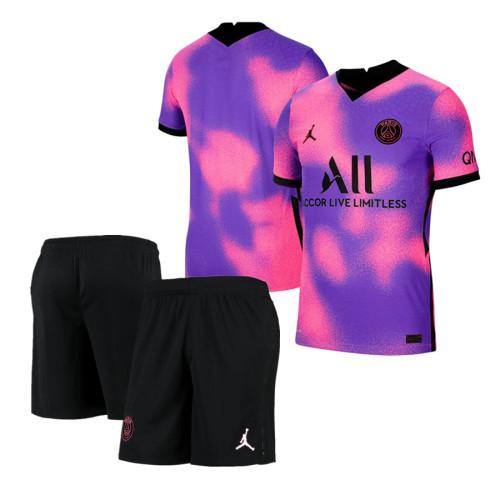 Paris Saint-Germain 20/21 Fourth Soccer Jersey and Short Kit